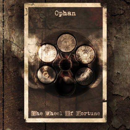 Ophan - 'The Wheel Of Fortune' album art